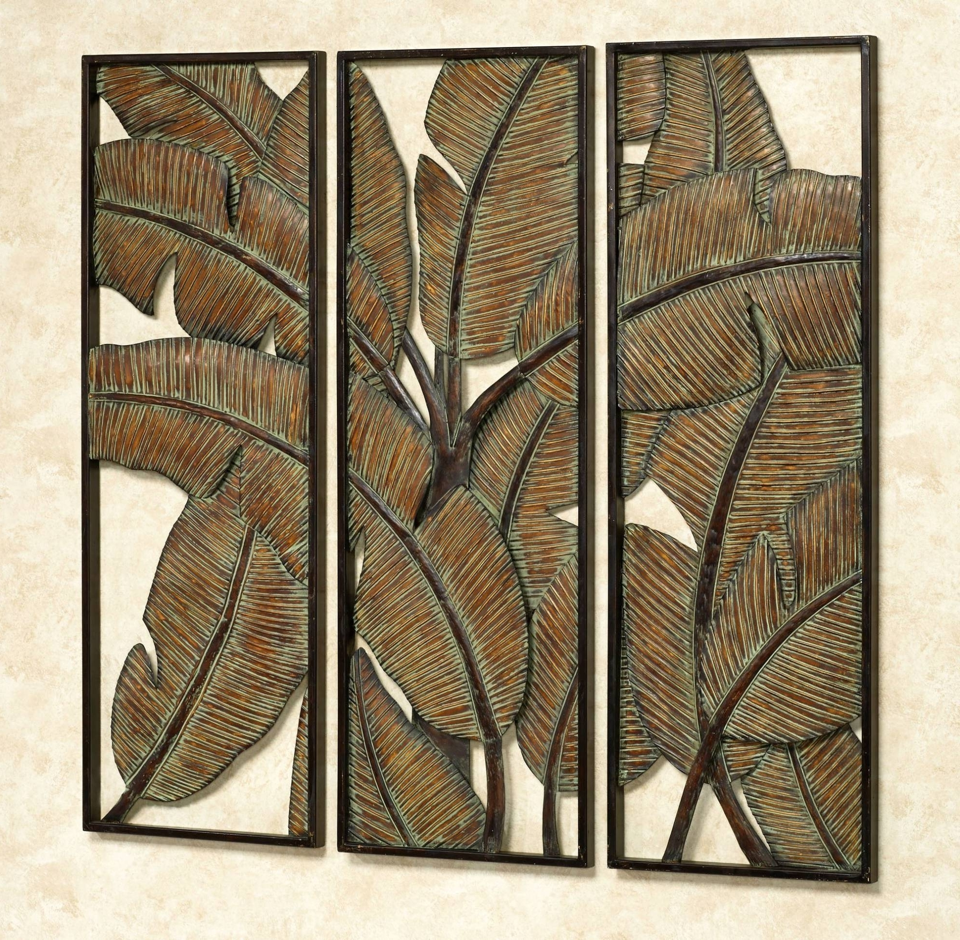 Fashionable Abstract Outdoor Wall Art With Terrific Tropical Wall Art Or 20 Best Of Featured Photo Decor (View 6 of 15)