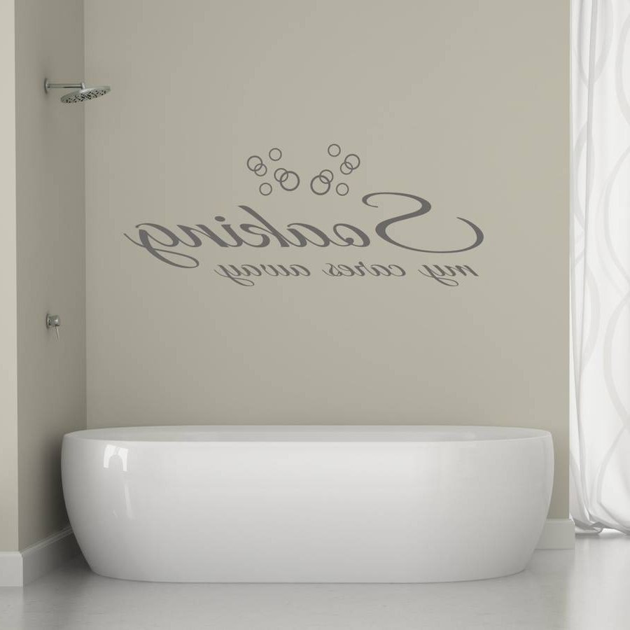 Fashionable Bathroom Glass Wallt Masculine Sets Rules Uk Small Ideas Piece In 3D Wall Art For Bathroom (View 8 of 15)
