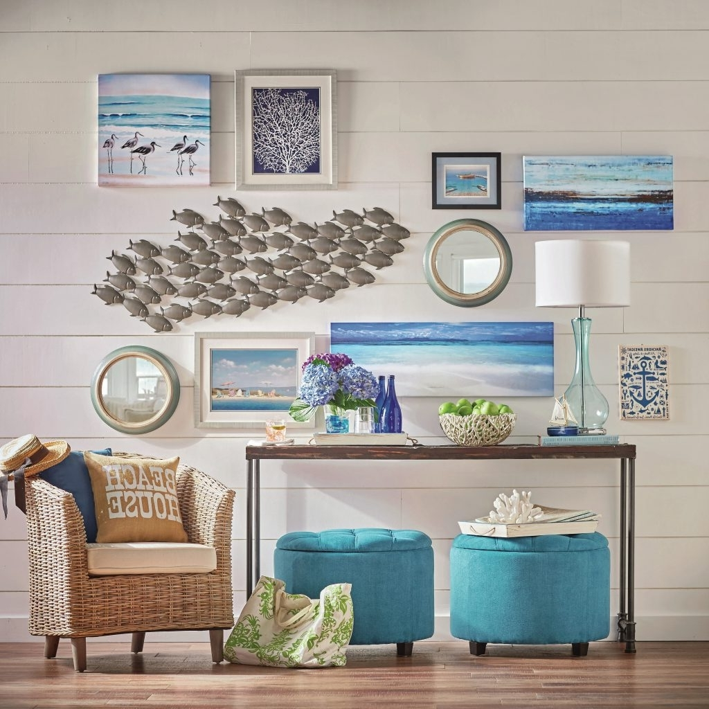 Fashionable Beach Cottage Wall Decors Throughout Bold Inspiration Beachy Wall Decor Plus Beach Ideas Walls Themed (View 5 of 15)