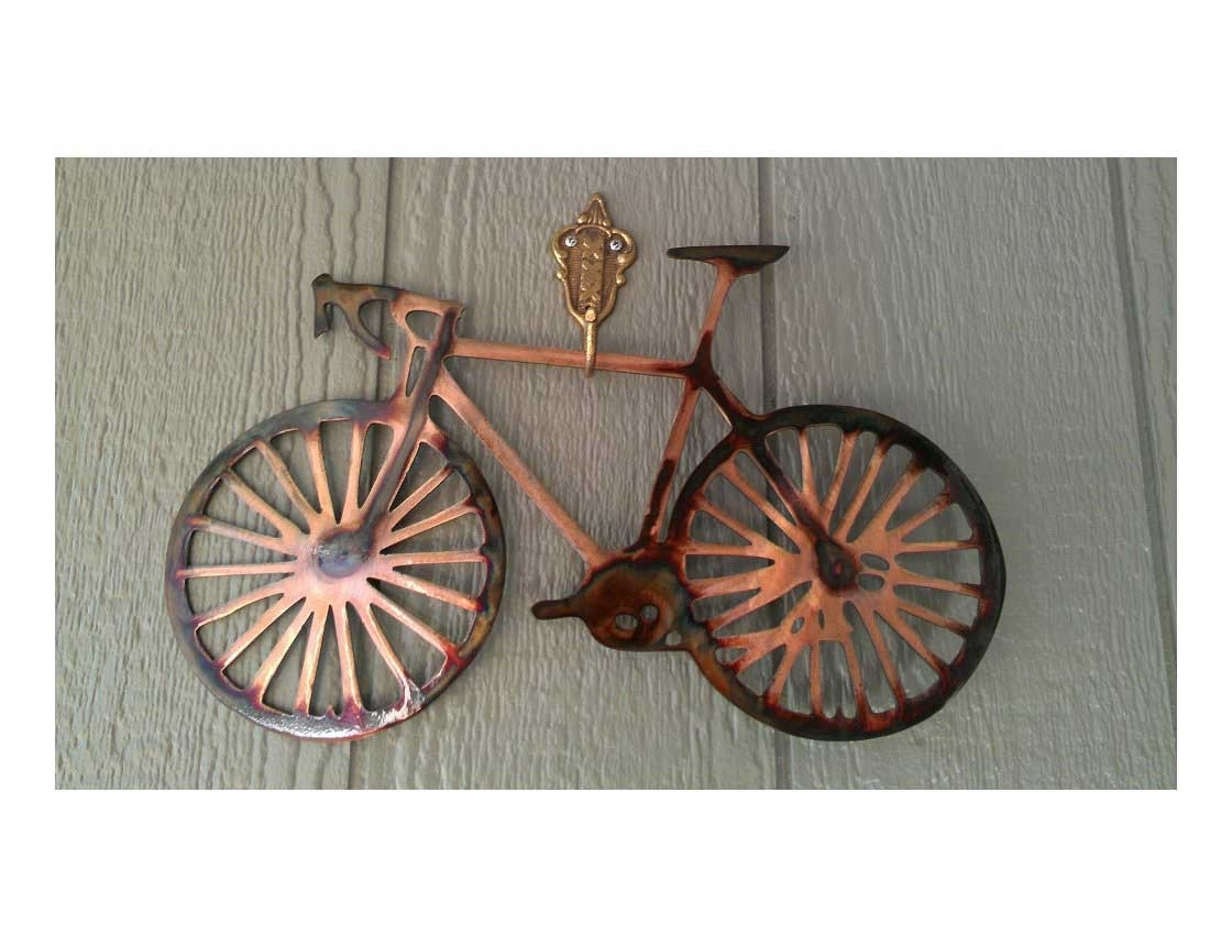 Fashionable Bicycle Metal Wall Art Pertaining To 20 Best Metal Bicycle Wall Art Wall Art Ideas (View 6 of 15)