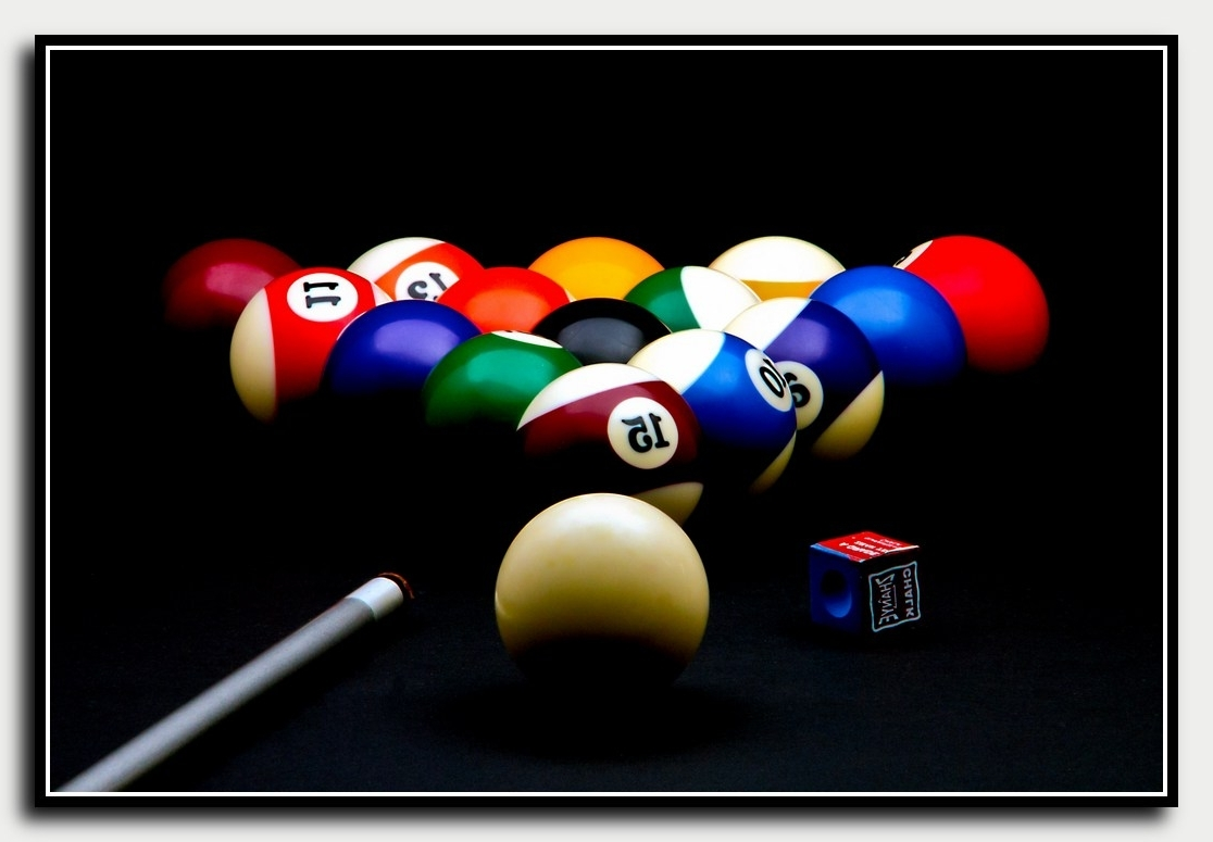 Featured Photo of Billiard Wall Art