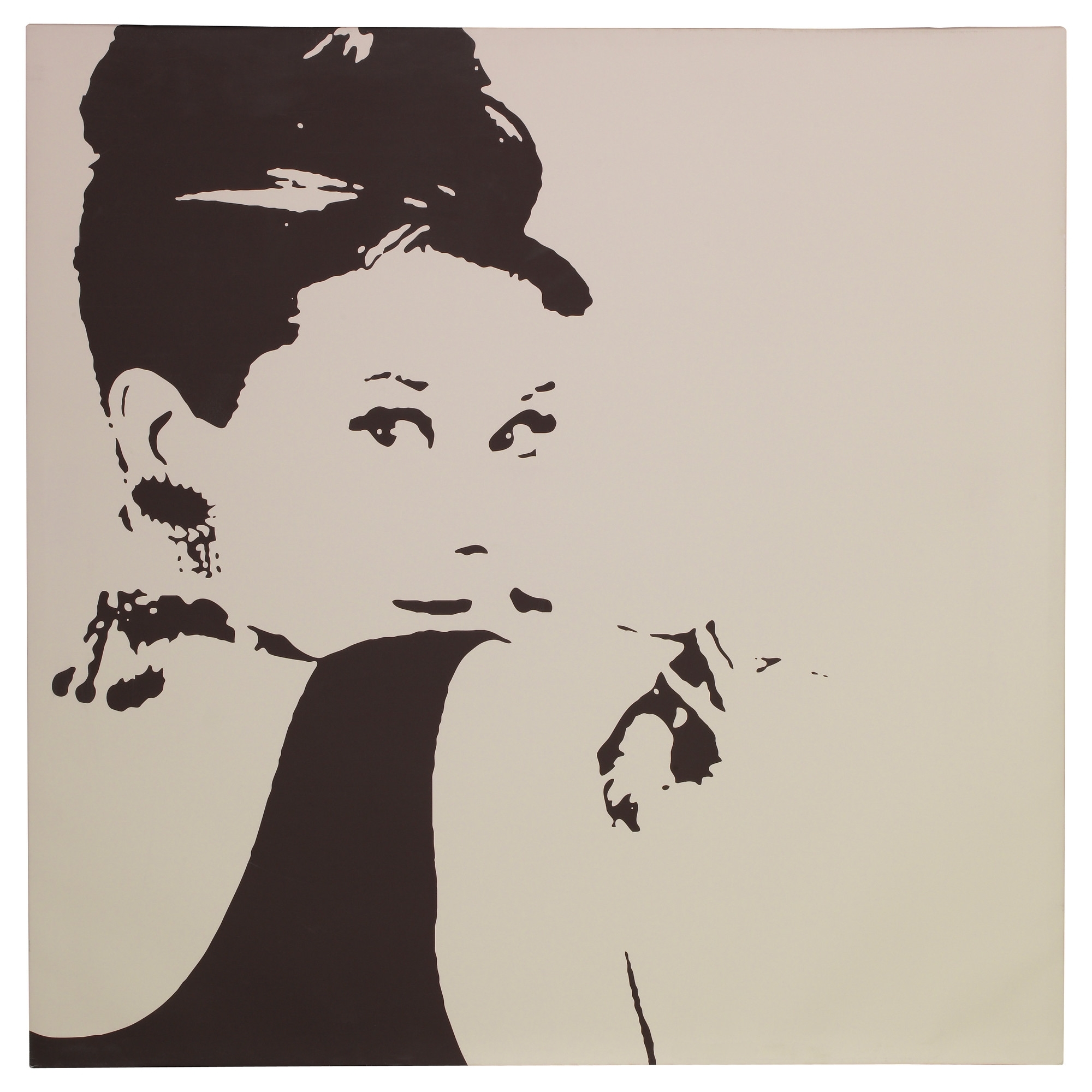 Fashionable Bring Class To A Room With The Pjätteryd Picture Of Audrey Hepburn With Glamorous Audrey Hepburn Wall Art (View 7 of 15)