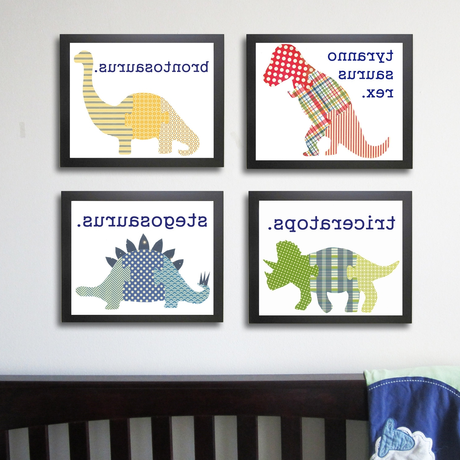 Fashionable Dinosaur Wall Art For Kids With Regard To Wall Art Designs: Dinosaur Wall Art Ethan Bedroom Dinosaur Art (View 11 of 15)