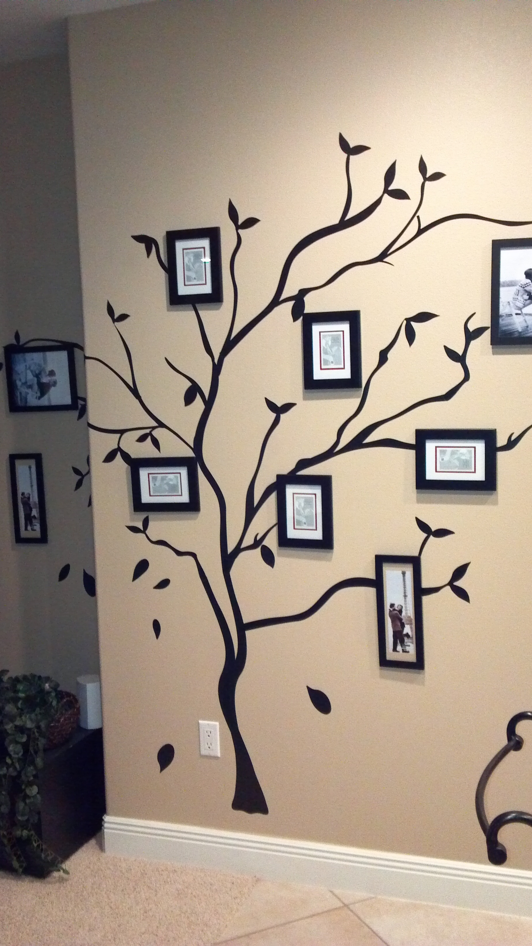 Fashionable Family Tree Wall Donemy Sisters (View 4 of 15)