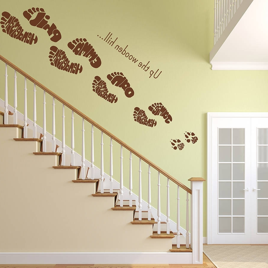 Fashionable Footprints In The Sand Wall Art Throughout Wall Art Decor Ideas: Rays Half Footprints Wall Art Face Indoor (View 7 of 15)