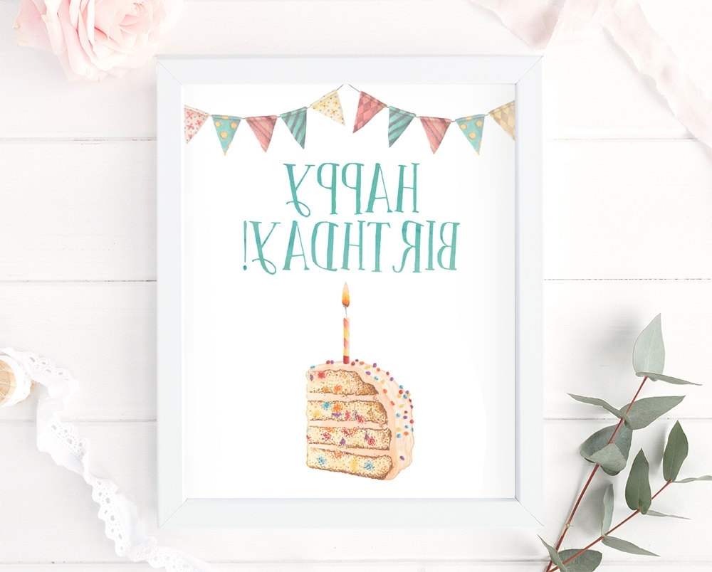 15 The Best Happy Birthday Wall Art