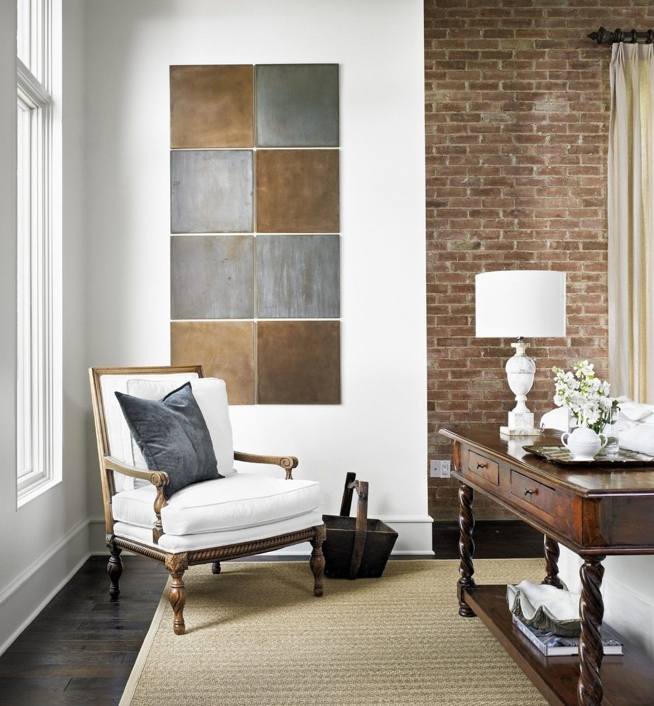 Fashionable Industrial Wall Art Living Room Traditional With Table Lamp Throughout Industrial Wall Art (View 4 of 15)