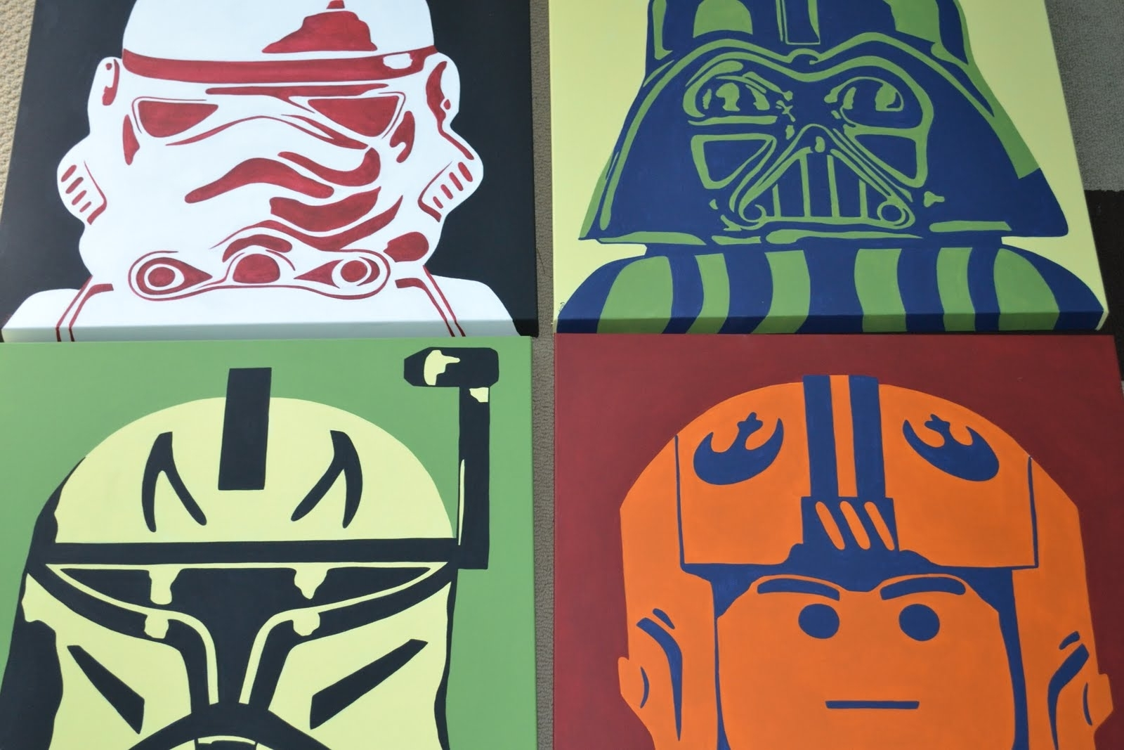 Fashionable Lego Star Wars Wall Art Throughout You're Artcorie Kline: Star Wars Legos Pop Art (View 2 of 15)