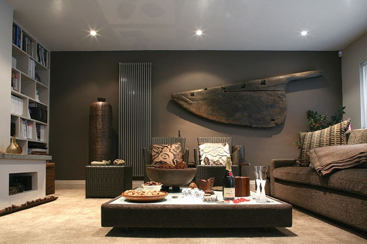 Fashionable Masculine Interior Design With Imagination (View 13 of 15)