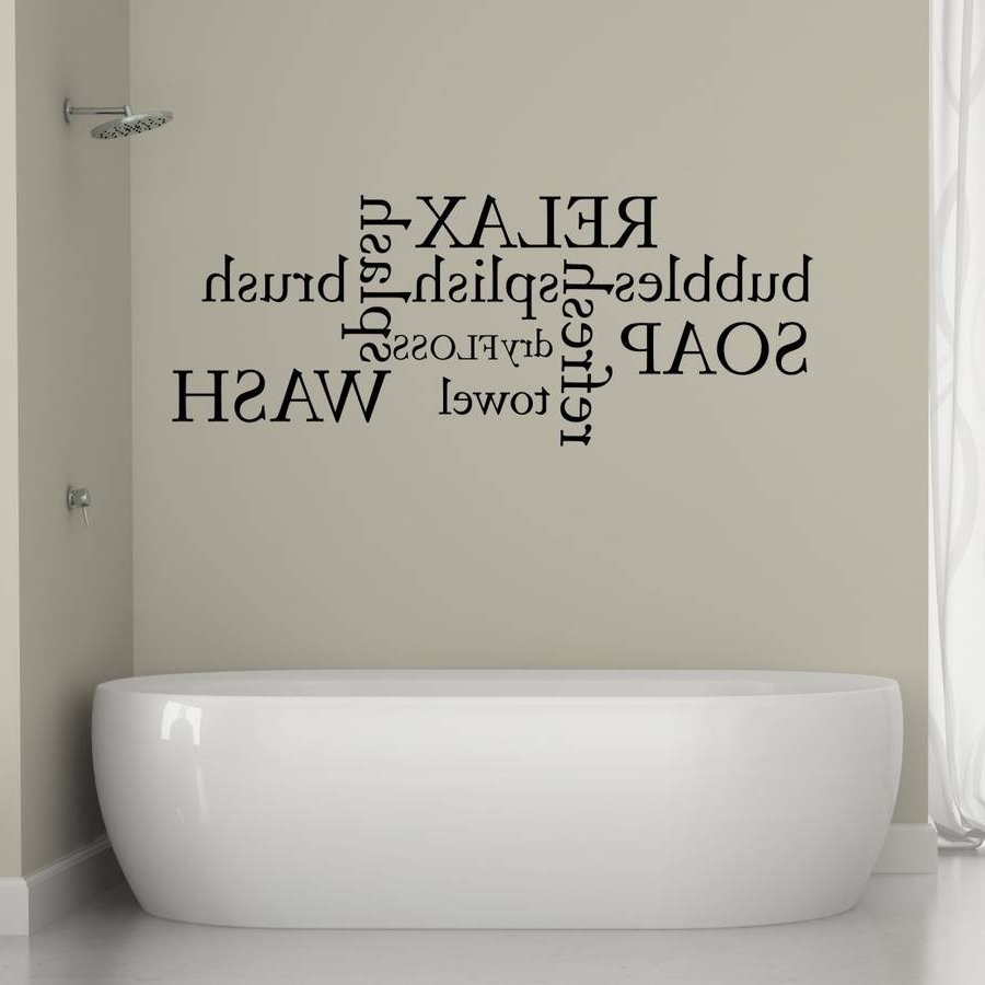 Fashionable Shower Room Wall Art Within Smart Bathroom Wall Art : Best Ideas Decorating Bathroom Wall Art (View 7 of 15)