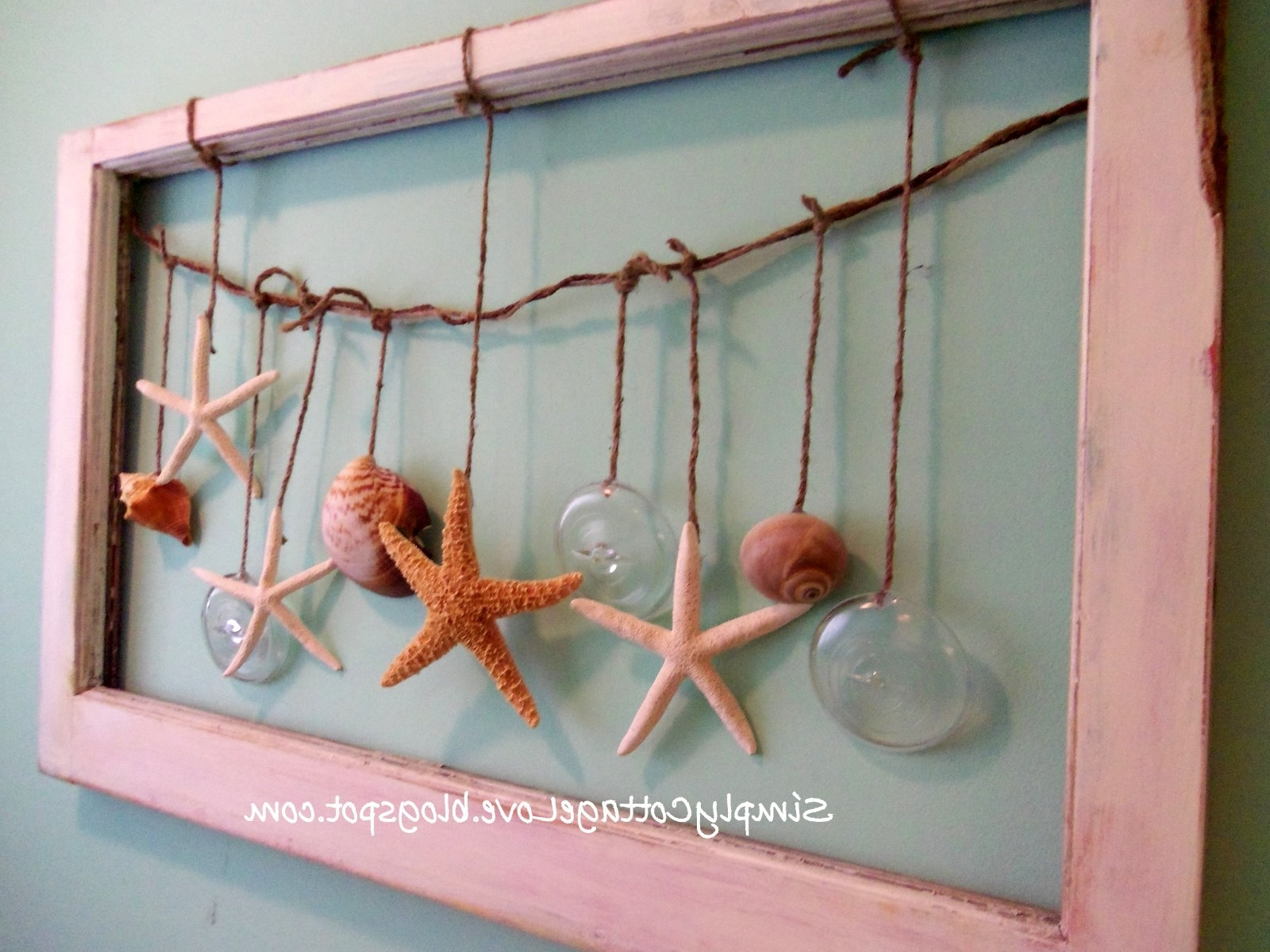 Fashionable Simply Cottage Love: Beachy Wall Art Within Beach Cottage Wall Art (View 4 of 15)