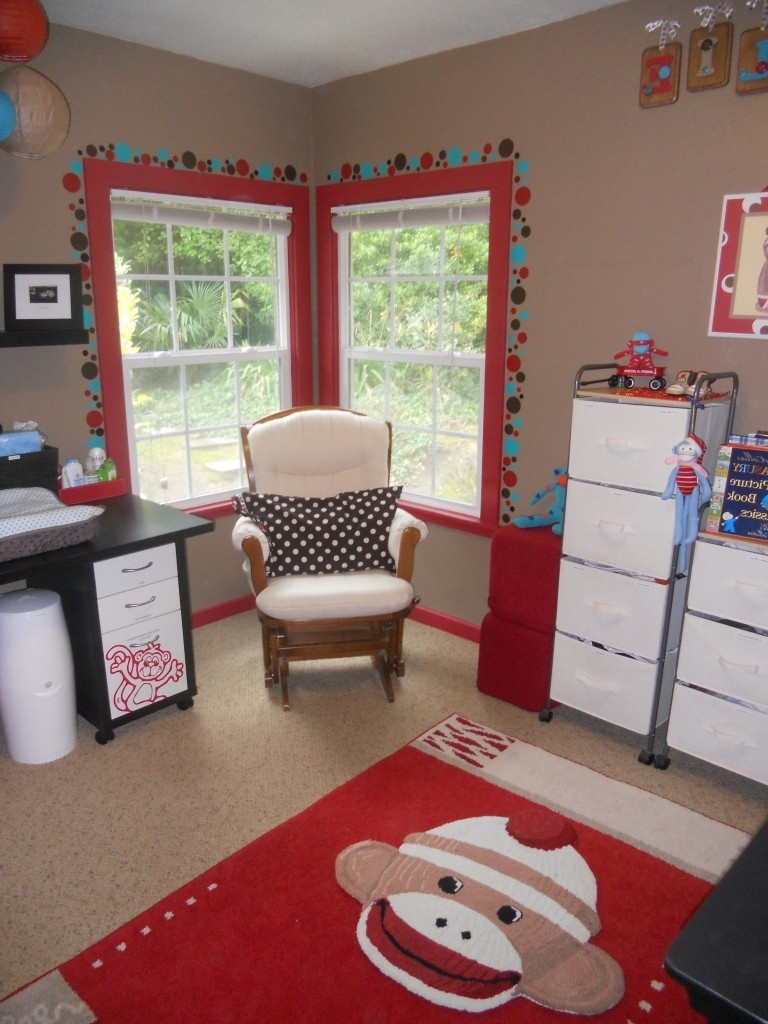 Fashionable Sock Monkey Nursery For Charlie! – Project Nursery Throughout Sock Monkey Wall Art (View 3 of 15)