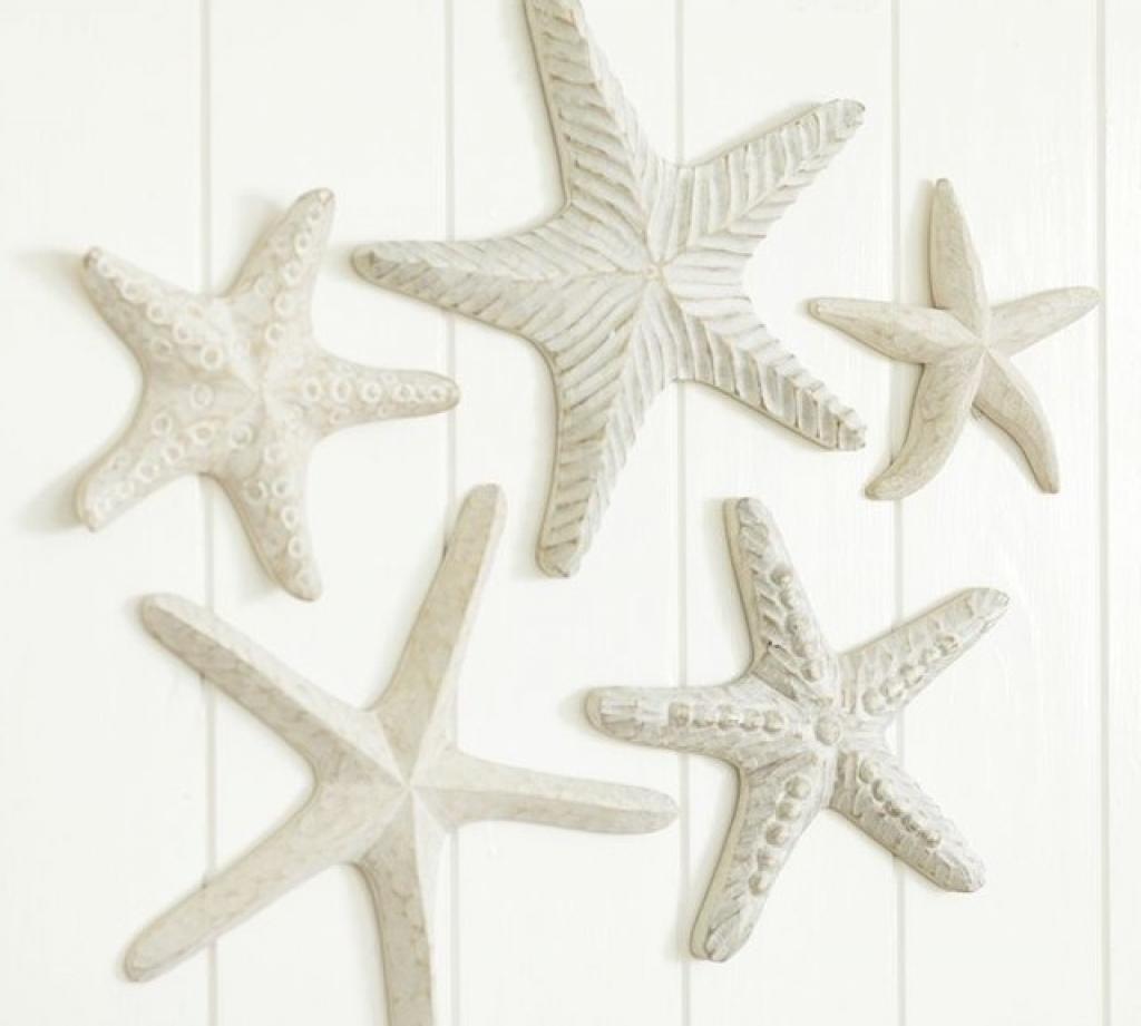 Fashionable Starfish Wall Decor Bathroom • Walls Decor Regarding Large Starfish Wall Decors (View 9 of 15)
