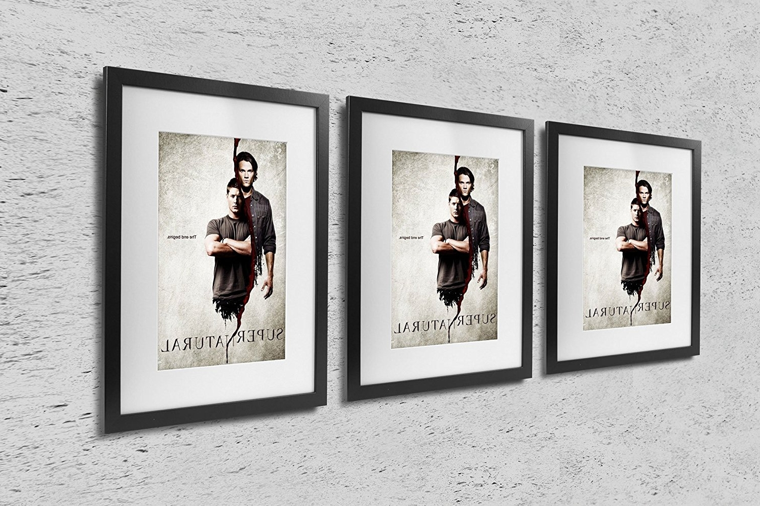 Fashionable Supernatural Wall Art Throughout Amazon: 11X17 Poster Print Supernatural The End Begins: Prints (View 3 of 15)