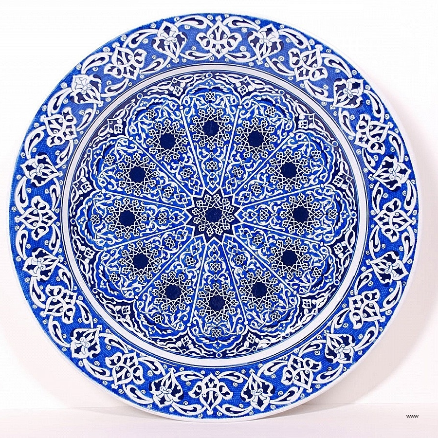 Fashionable Turkish Wall Art Inside Turkish Wall Art Luxury Turkish Ä°Znik ‡ini Plate Mandala Hd (View 5 of 15)