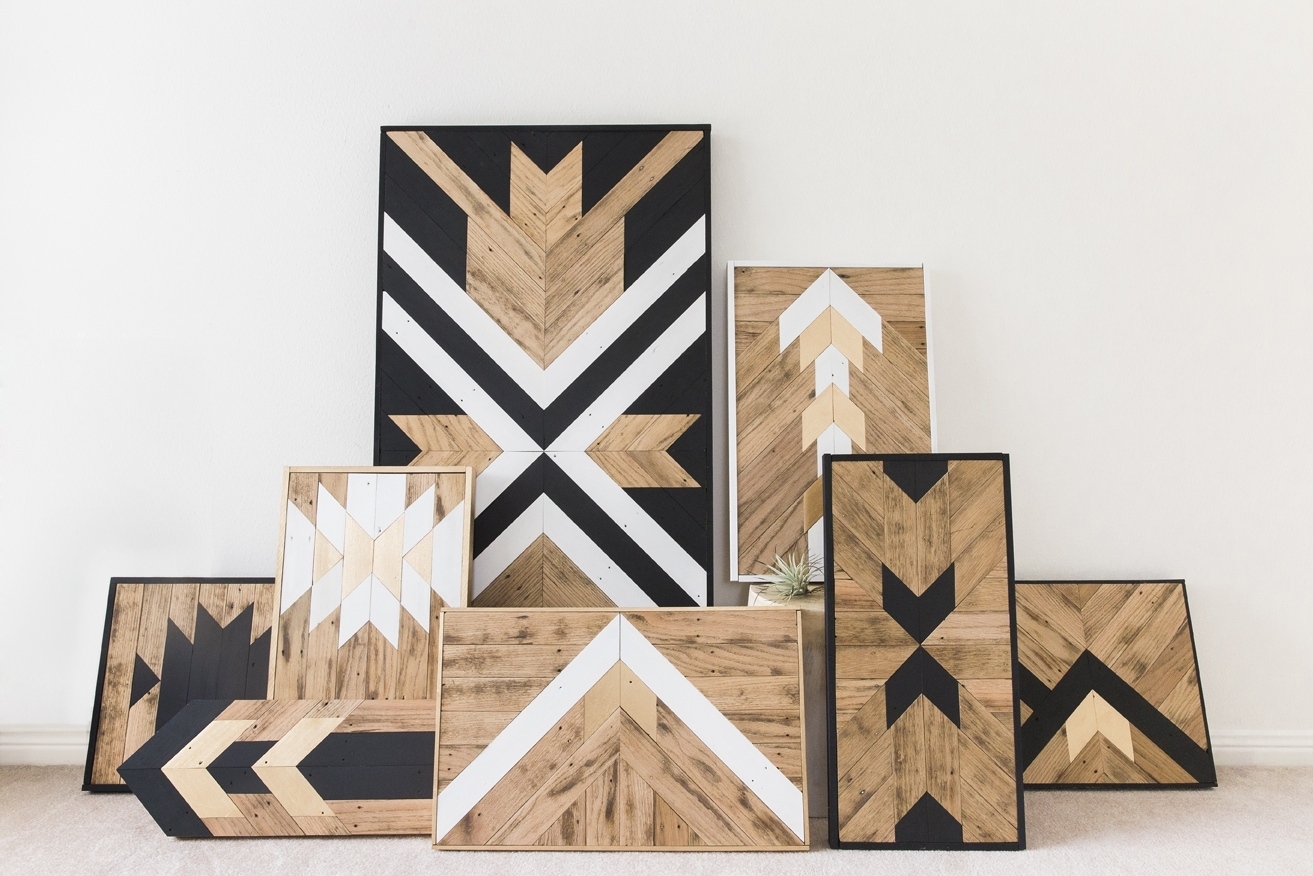 Fashionable Unique Modern Wall Art Regarding Wall Art Design Ideas: Land Unique Wood Wall Art Classic Reclaimed (View 3 of 15)