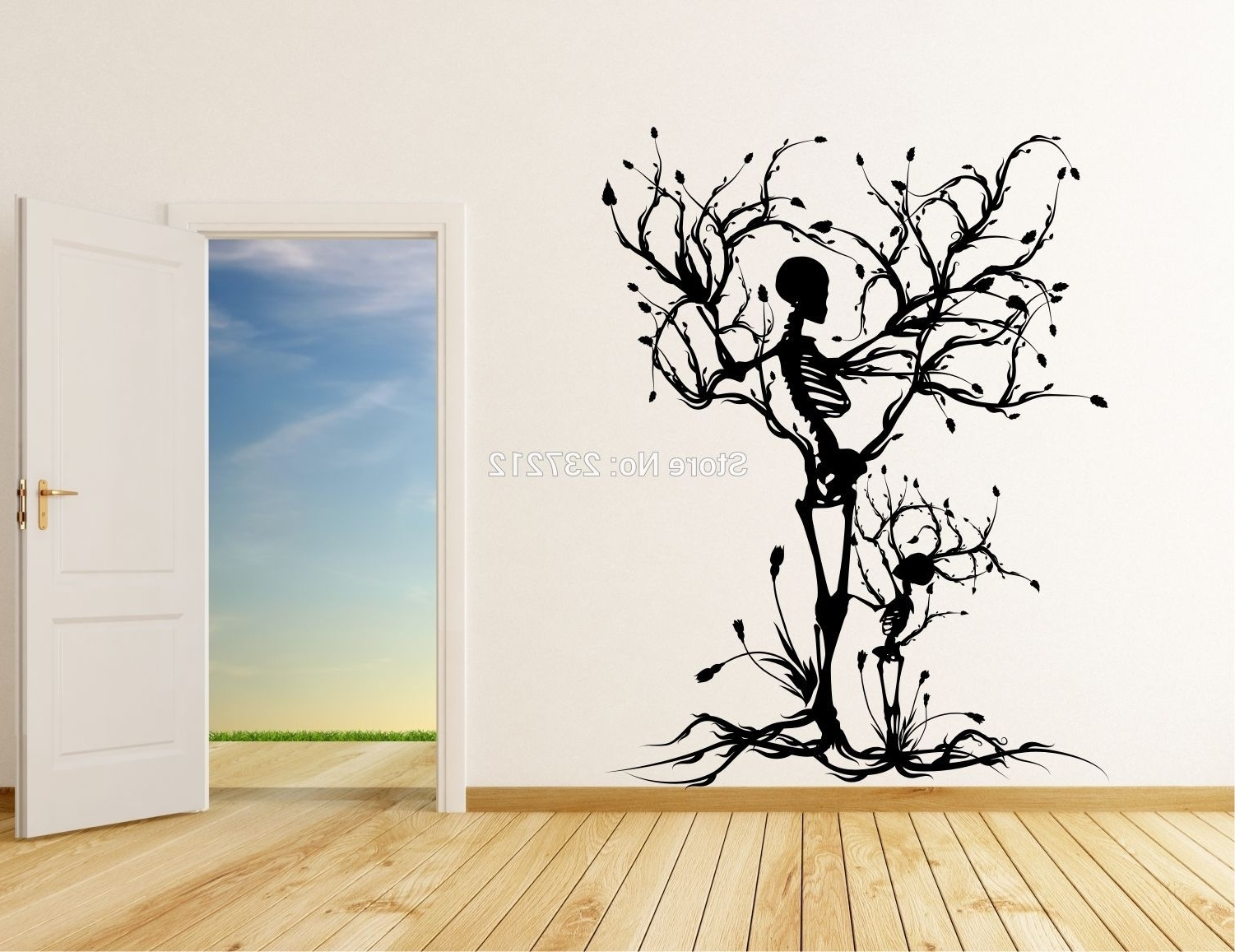 Fashionable Vinyl Wall Art Tree Regarding Wall Art Designs: Vinyl Wall Art Decals Popular Vinyl Tree Wall (View 6 of 15)