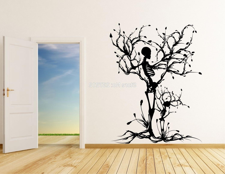 Fashionable Vinyl Wall Art Tree Regarding Wall Art Designs: Vinyl Wall Art Decals Popular Vinyl Tree Wall (View 4 of 15)