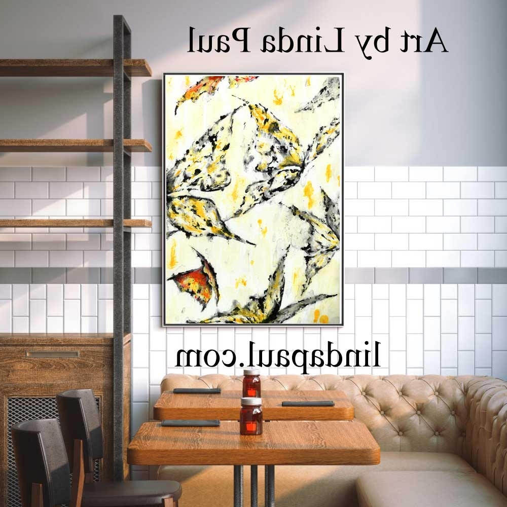 Fashionable Wall Art For Restaurants And Hotels – Original Artwork And Tiles Regarding Italian Stone Wall Art (View 4 of 15)