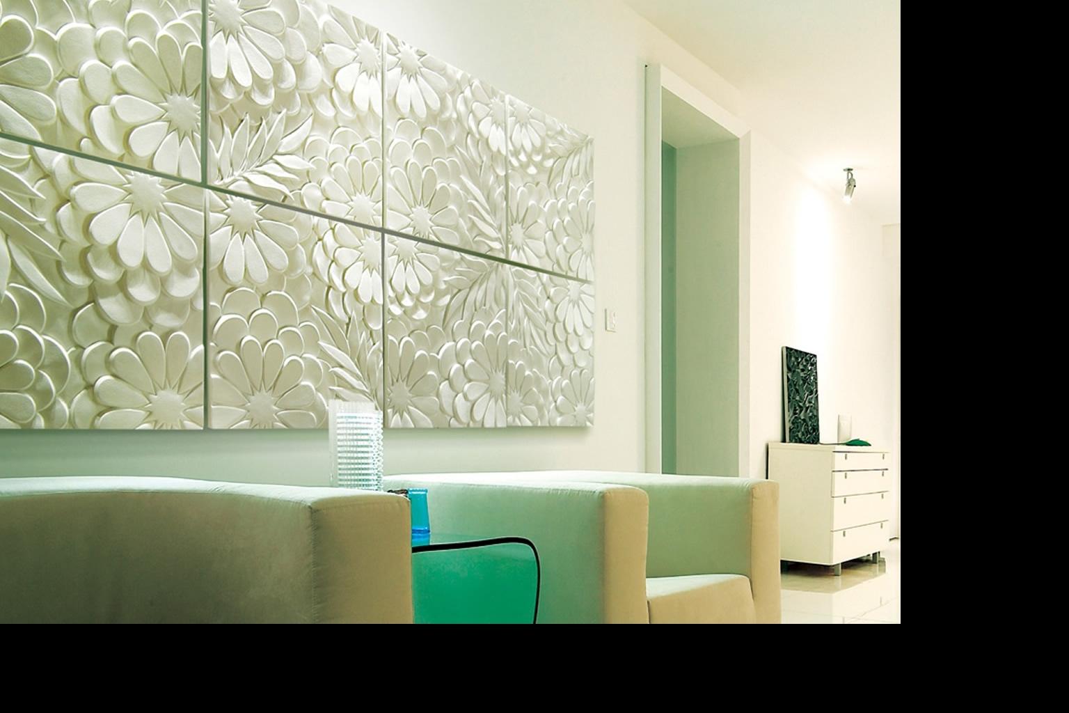 Fashionable Wall Art Ideas Design : Green Decorations 3D Wall Art Panels Multi Regarding 3D Wall Panels Wall Art (View 4 of 15)