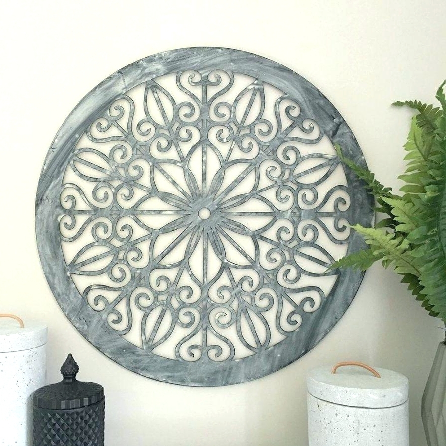 Fashionable Wall Arts ~ Round Metal Wall Art Australia Ergonomic Round Wall Throughout Large Round Metal Wall Art (View 5 of 15)