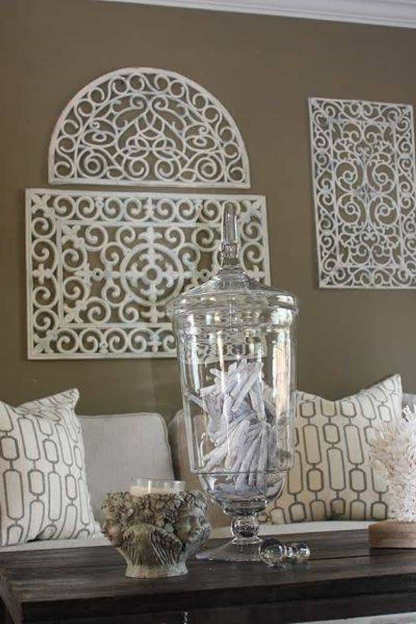 Faux Wrought Iron Wall Decor : The Elegant Wrought Iron Wall Decor Within Preferred Faux Wrought Iron Wall Decors (View 3 of 15)