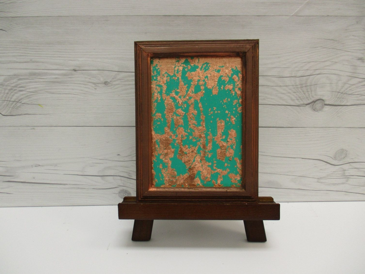 Favorite Abstract Leaves Wall Art With Copper Wall Art, Copper Leaf, Emerald Green Abstract, Green (View 5 of 15)
