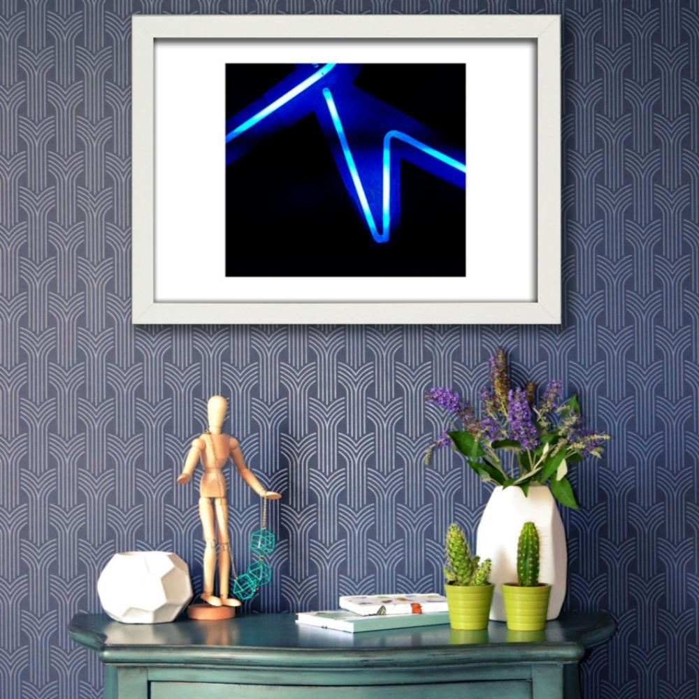 Favorite Abstract Neon Wall Art With The Abstract Neon Collection Wall Art – Top Drawer (View 9 of 15)