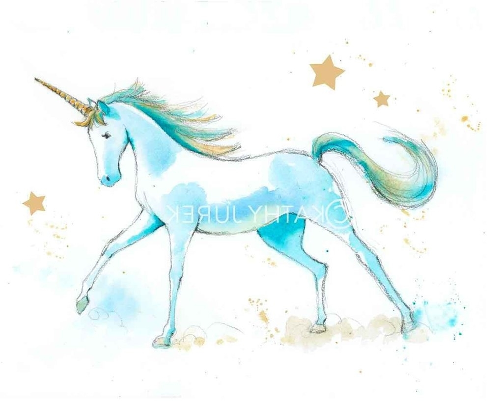 Favorite Amazing Unicorn Wall Art Con Fine Site Pertaining To 3D Unicorn Wall Art (View 6 of 15)