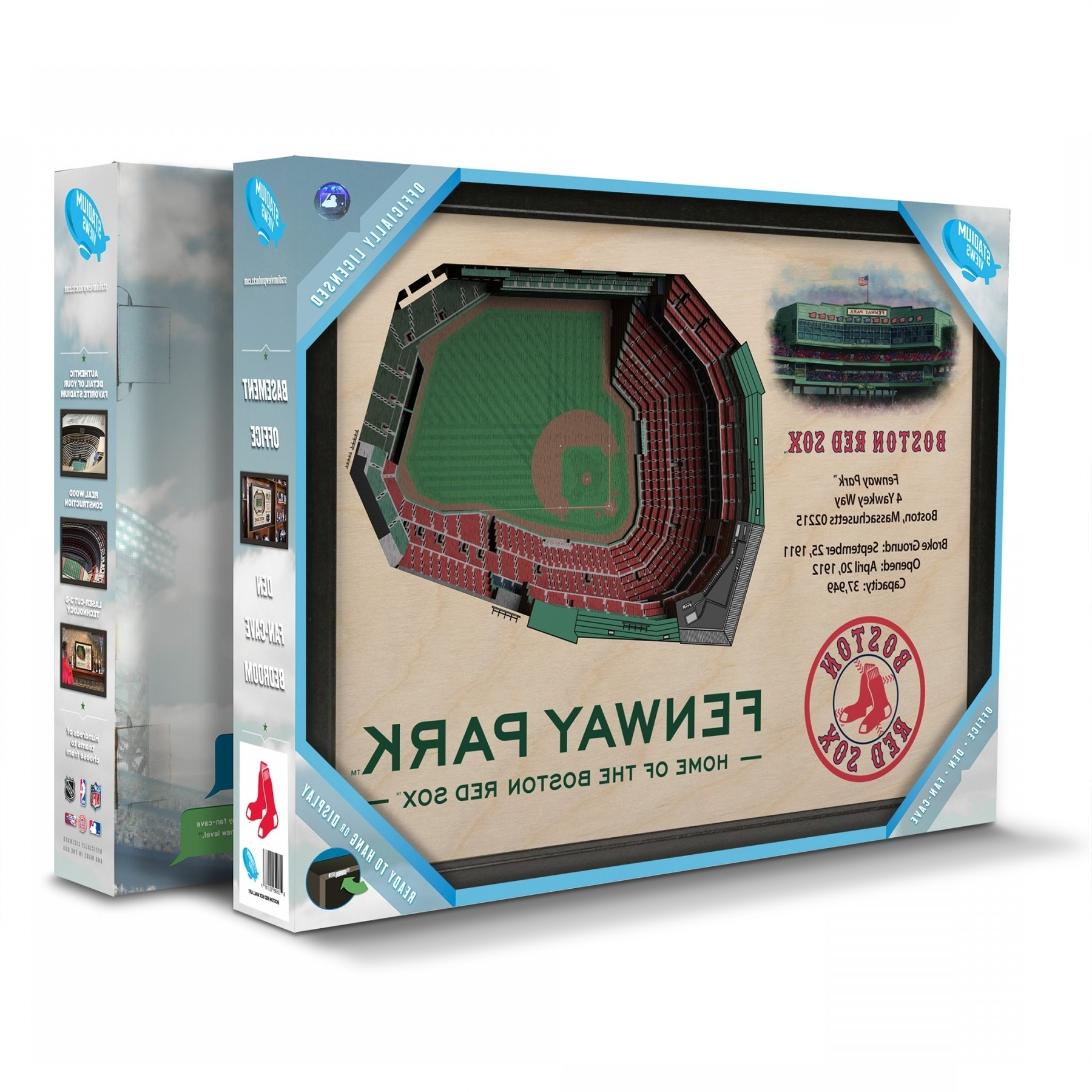Favorite Boston Red Sox Stadiumview Wall Art – Fenway Park 3 D Reproduction Inside Boston Red Sox Wall Art (View 7 of 15)