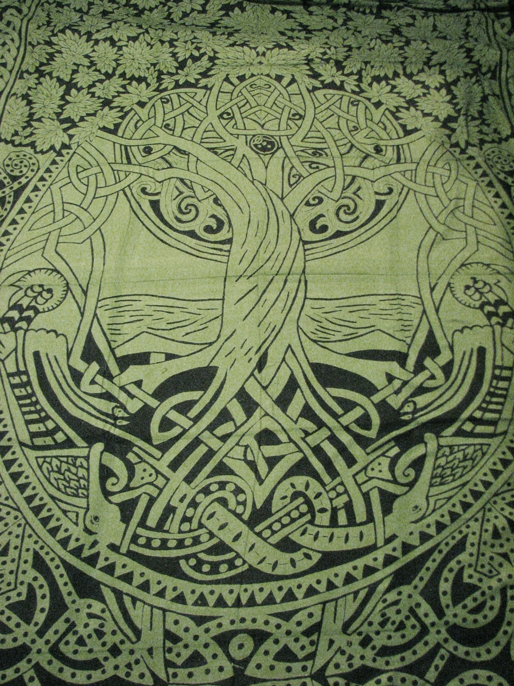 Favorite Celtic Tree Of Life Wall Art Inside Celtic Tree Of Life Infinity Knot Druid Pagan Tapestry Wall (View 6 of 15)