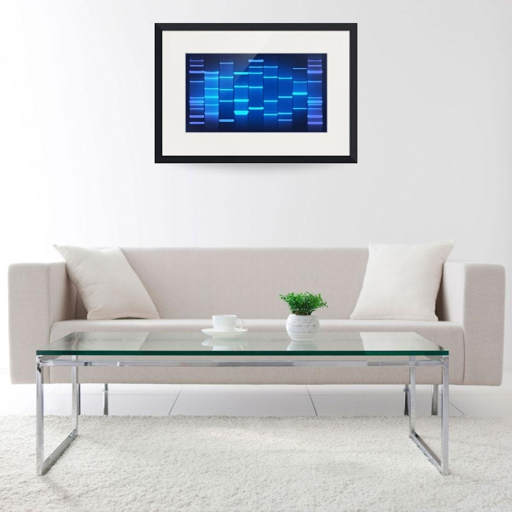 Favorite Dnaartonline's Stunning Artwork For Sale On Fine Art Prints With Regard To Dna Wall Art (View 7 of 15)