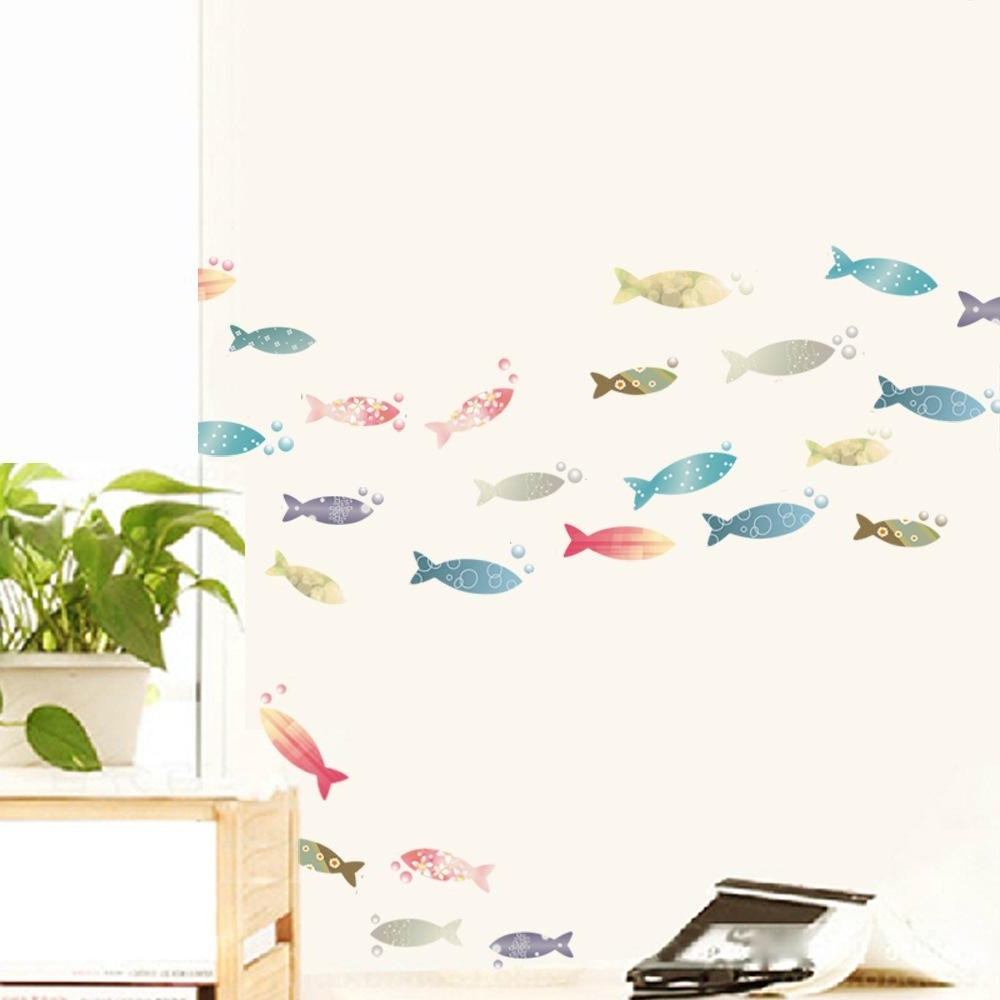 Featured Photo of Fish Decals For Bathroom