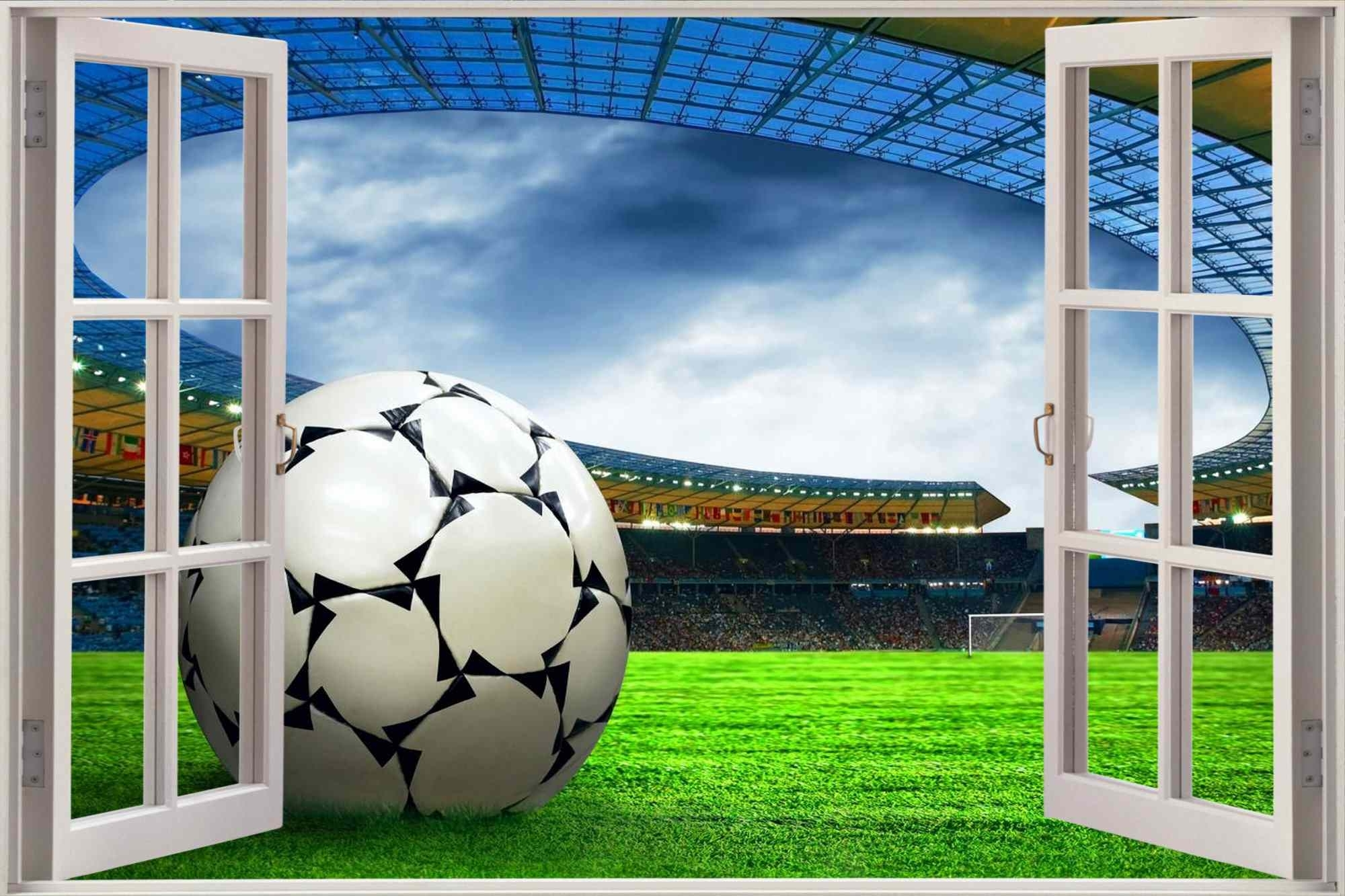 Favorite Football Hd Wall Murals 3D For Football 3D Wall Art (View 8 of 15)