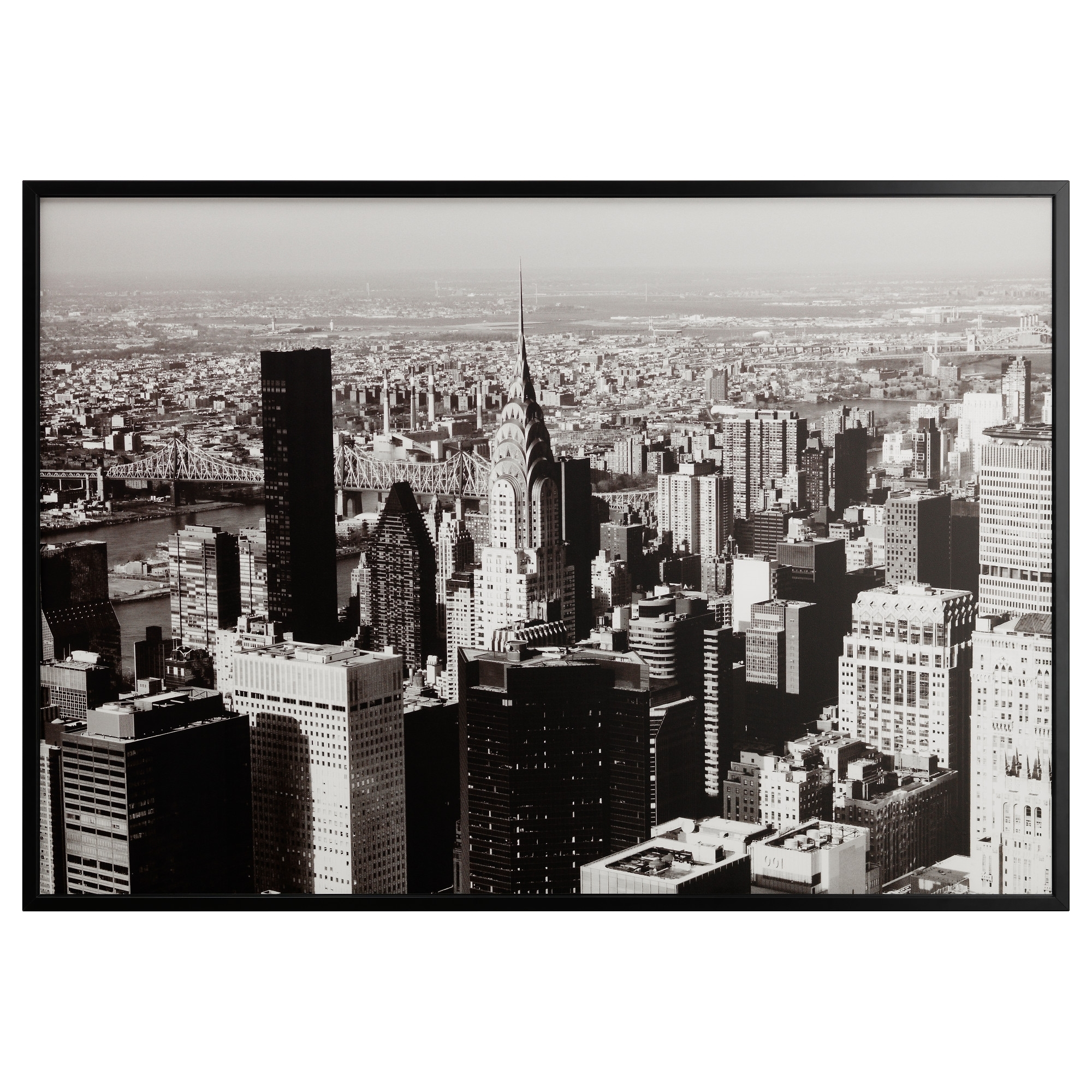 Favorite Ikea Brooklyn Bridge Wall Art Pertaining To Björksta Picture And Frame – Aluminum Color – Ikea (View 4 of 15)
