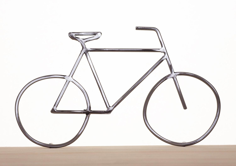 Favorite Metal Bike Art Bike Sculpture Metal Bicycle Metal Wall Art For Bike Wall Art (View 6 of 15)