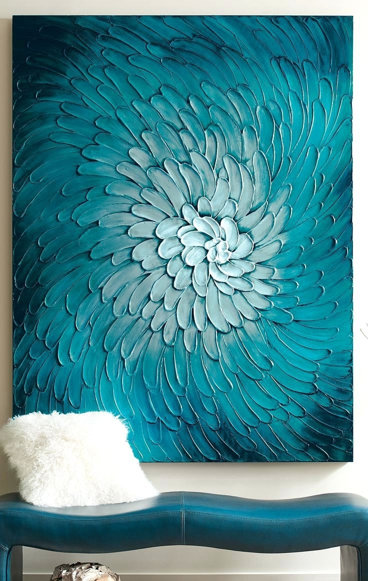 Favorite Olive Green Abstract Wall Art With Regard To Wall Arts ~ Blue Flora Artwork Olive Green Metal Wall Art Olive (View 3 of 15)
