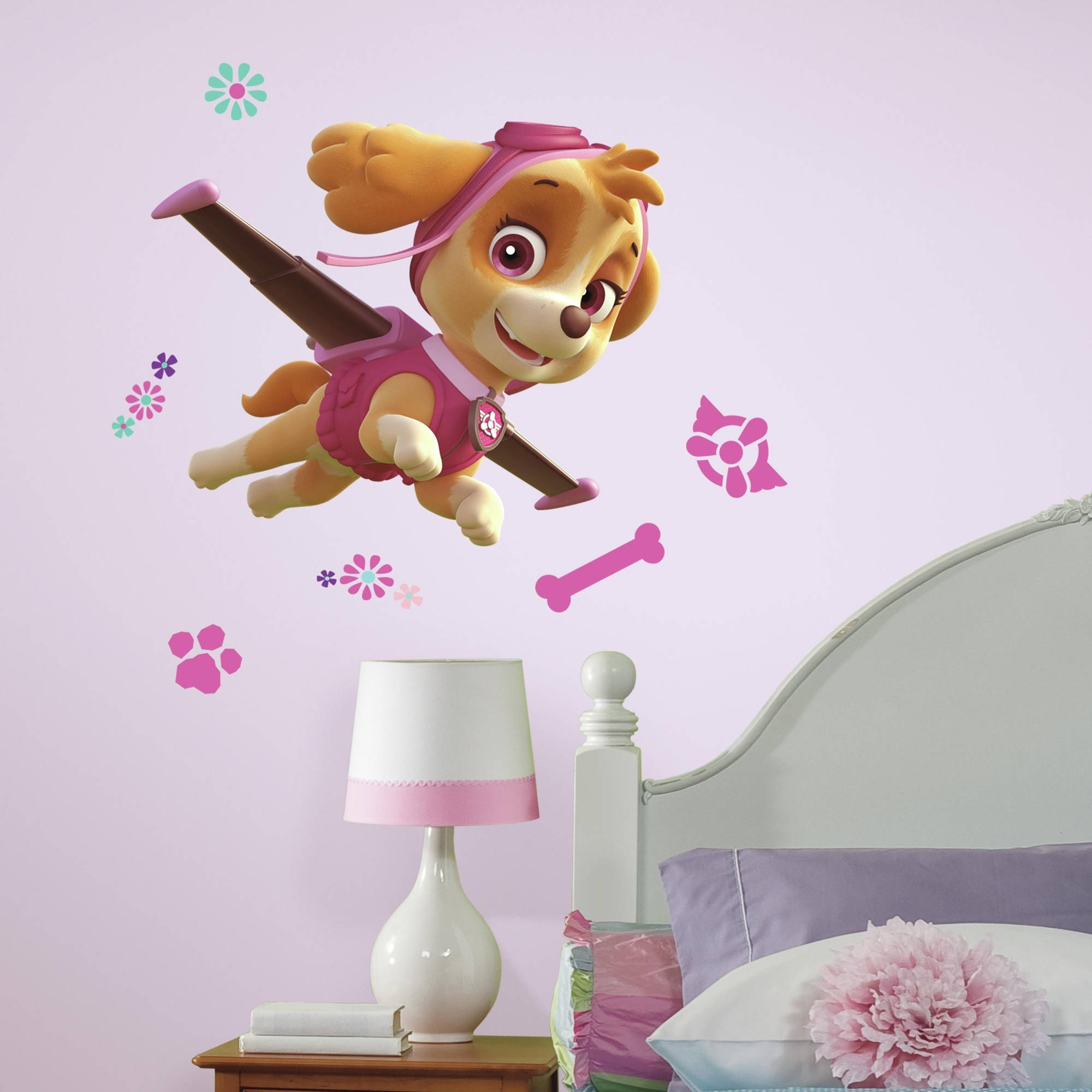 Favorite Preschool Classroom Wall Decals For Roommates Paw Patrol Skye Peel And Stick Giant Wall Decals (View 8 of 15)