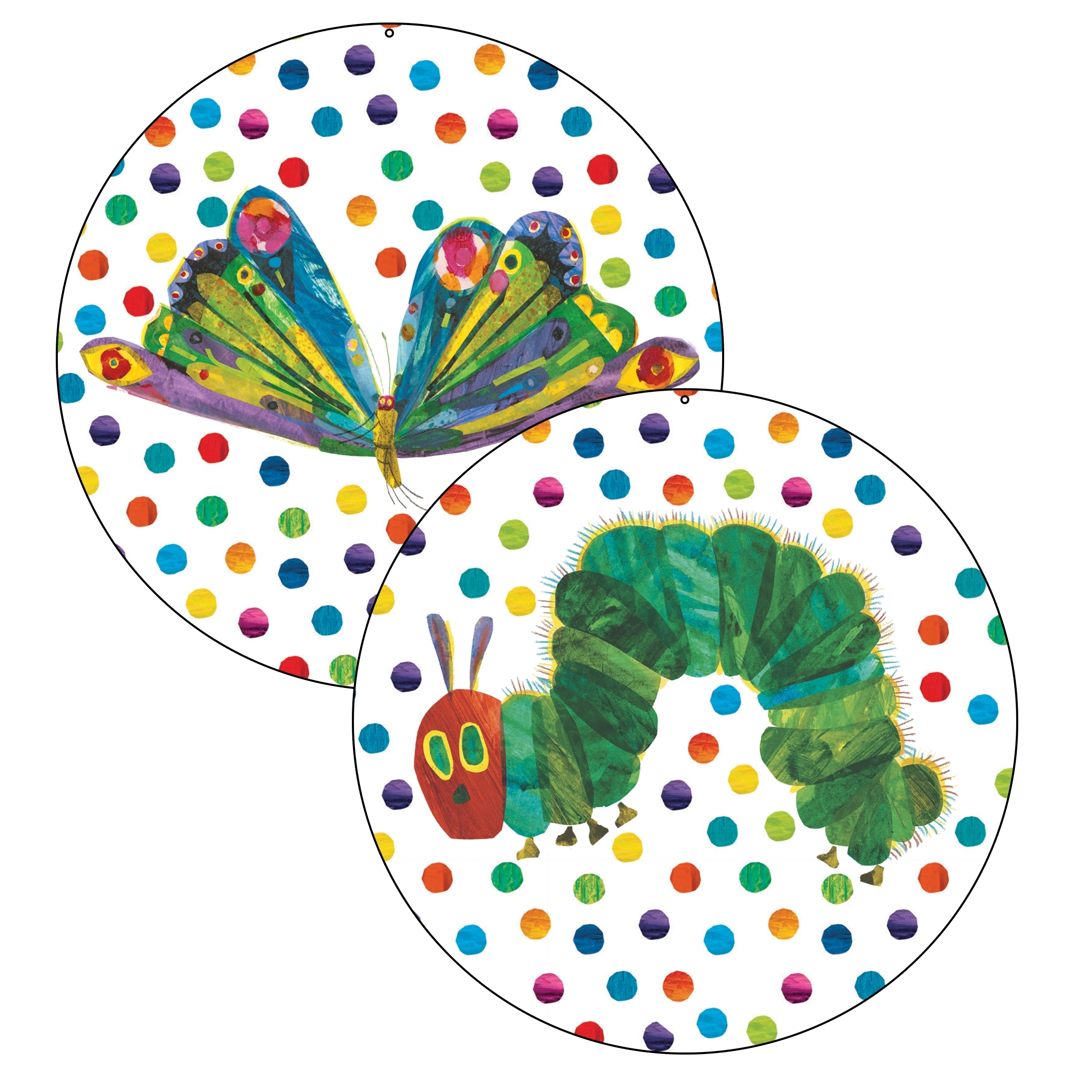 Favorite Very Hungry Caterpillar Jumbo Circle Decoration (View 2 of 15)