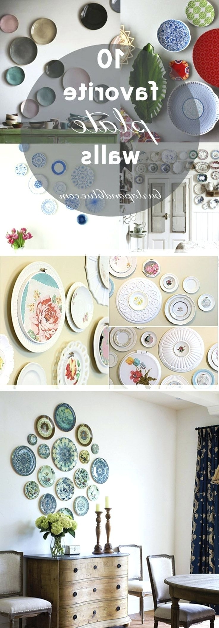 Favorite Wall Arts ~ Wall Plates Art Deco Wall Inspirations 108 High Impact Inside Scattered Italian Plates Wall Art (View 9 of 15)