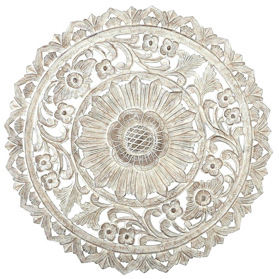 Favorite Wall Arts ~ White Wood Medallion Wall Art White Medallion Wall Art Intended For Metal Medallion Wall Art (View 5 of 15)