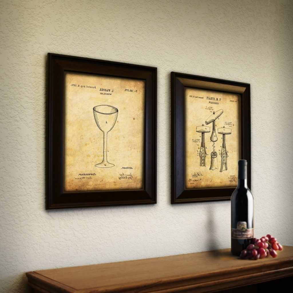 Comfortable Wine Wall Decor Kitchen Gallery - The Wall Art ...
