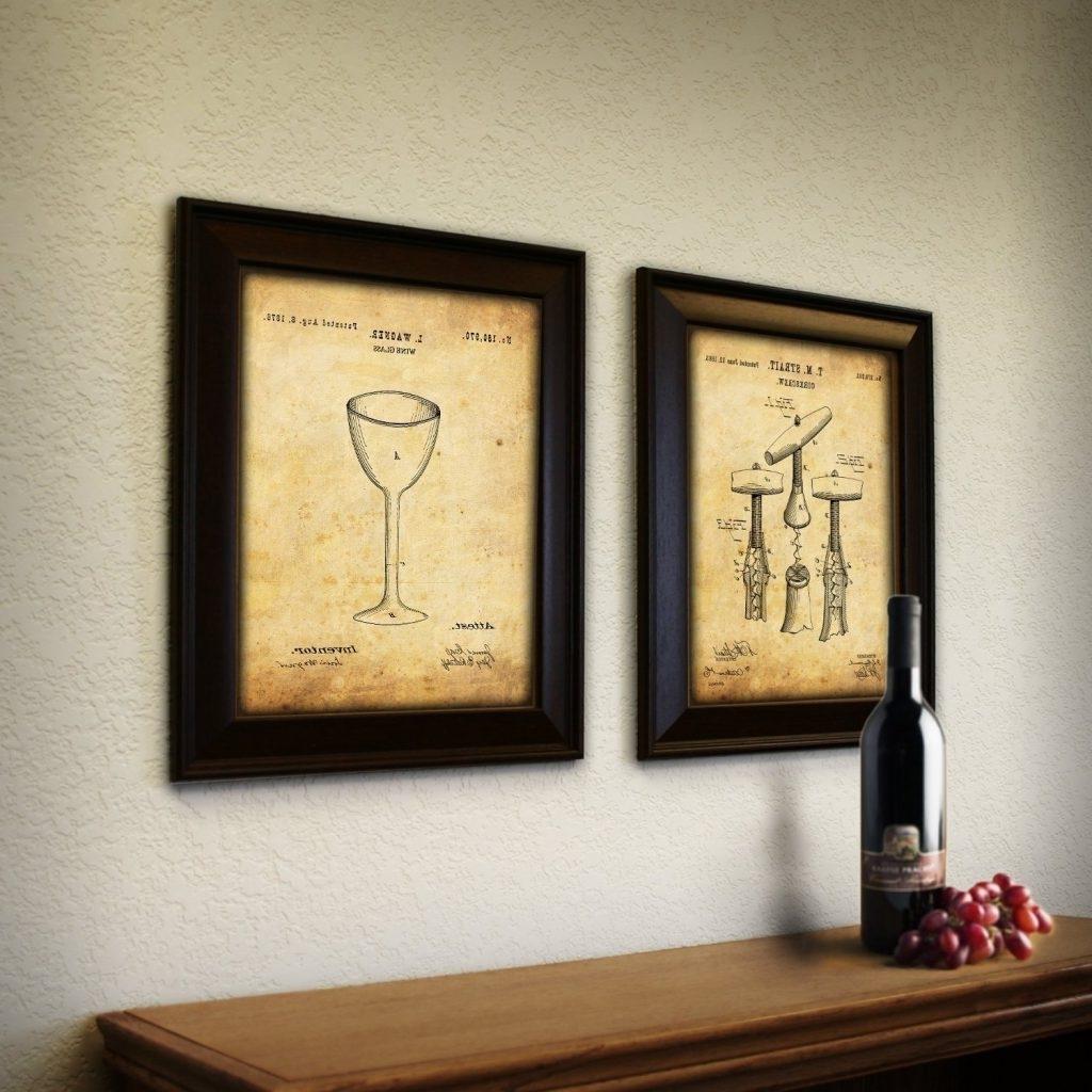 Favorite Wine Barrel Wall Art For Wine Home Decor & Wine Kitchen Decor Ideas (View 6 of 15)