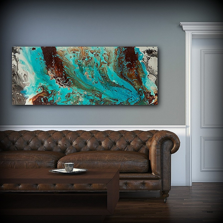 Fiber Optic Wall Art Luxury Inspirational Teal And Brown Wall Art Pertaining To Most Current Fiber Optic Wall Art (View 9 of 15)