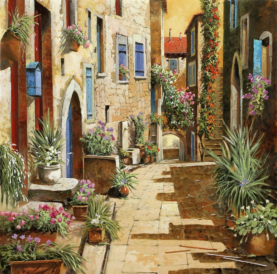 Fine Art America Intended For Italian Village Wall Art (View 2 of 15)