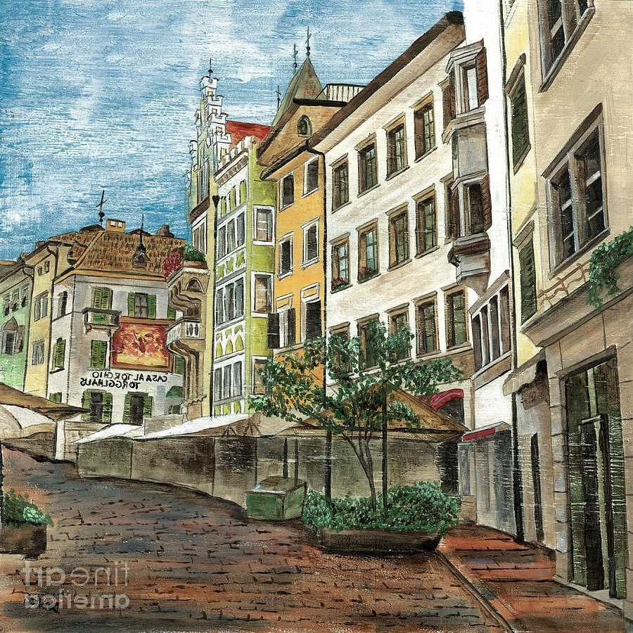 Fine Art America With Widely Used Italian Village Wall Art (View 3 of 15)