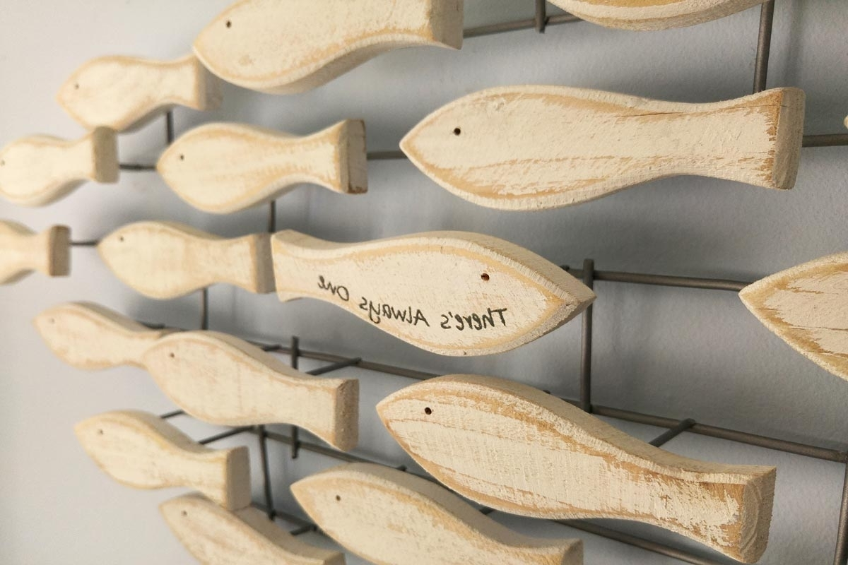 Fish Shoal Wall Art (View 6 of 15)