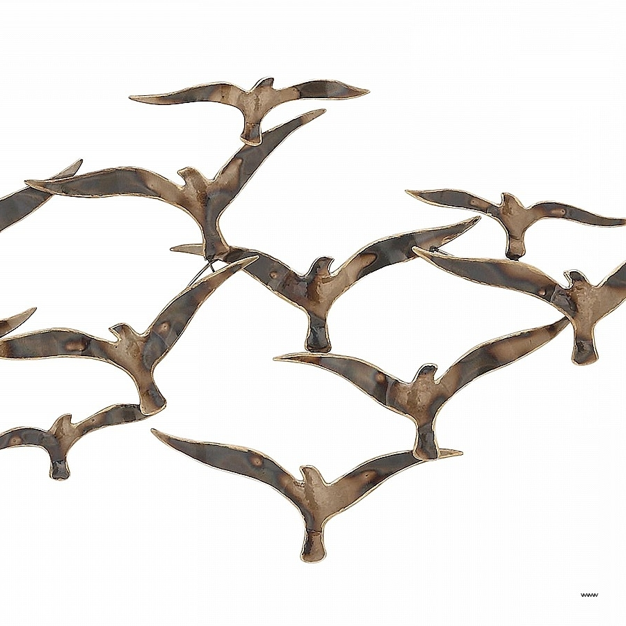 Flock Of Birds Metal Wall Art Beautiful Urban Designs Flying Flock Within 2018 Flock Of Birds Metal Wall Art (View 5 of 15)