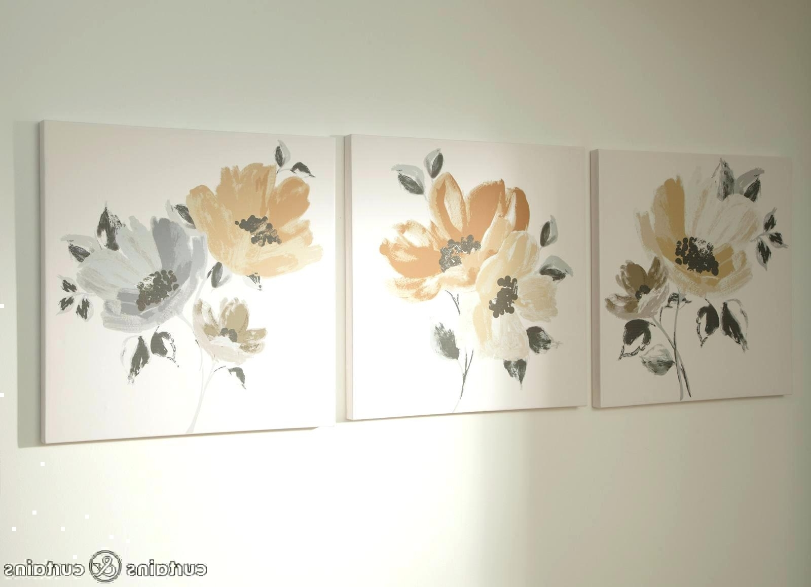 Floral Wall Art Canvas Regarding Trendy Wall Arts: Wall Art And Canvases (View 8 of 15)
