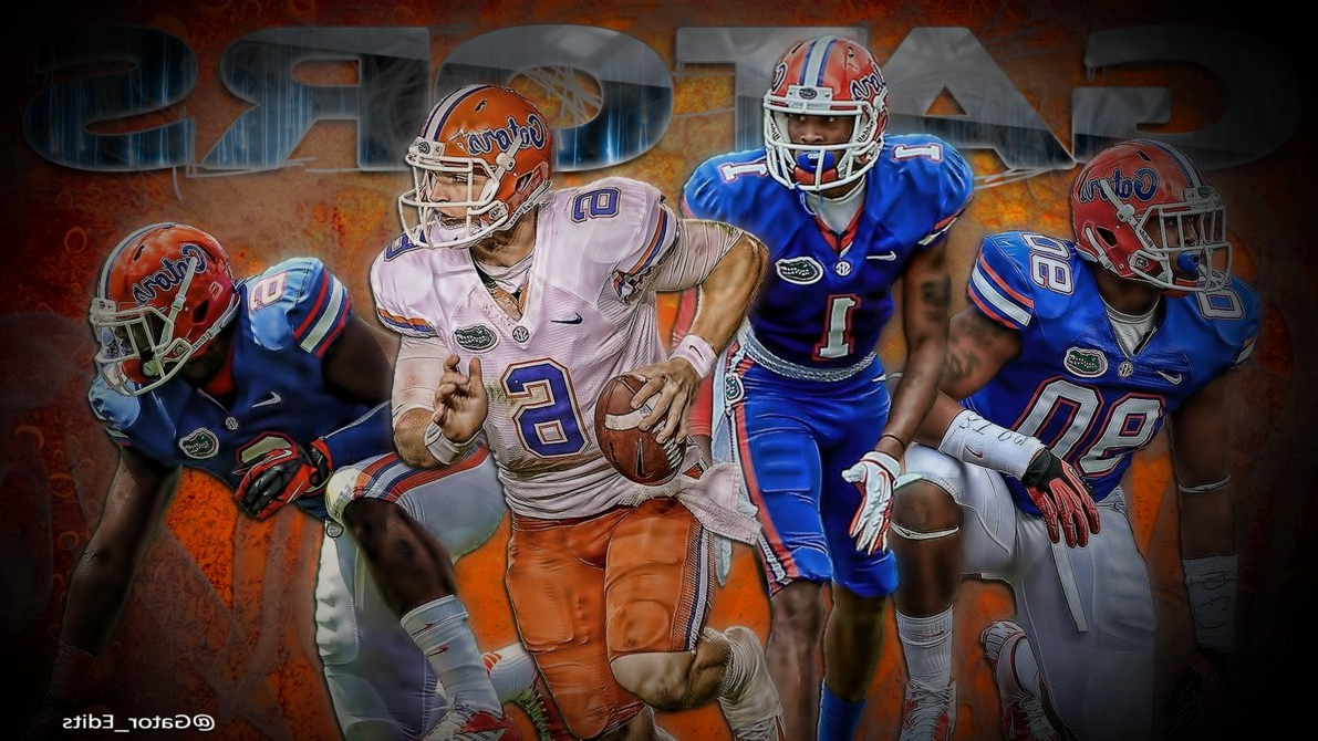 Florida Gator Wall Art For Widely Used Florida Gators Football Wallpaperjagstownville On Deviantart (View 11 of 15)